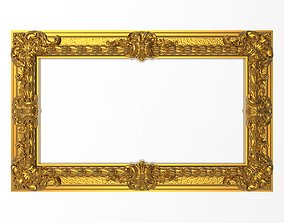Carved Picture Frame gallery 3D model