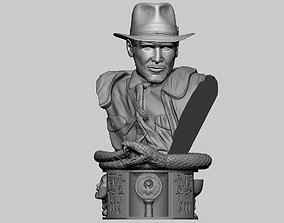3D print model Bust Indiana Jones