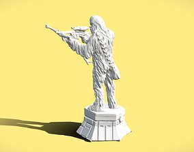 SW CHEWBACCA CHESS FIGURE - 3D SCAN