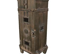 Industrial cupboard 3D asset