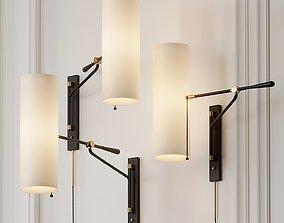 Frankfort Articulating Wall Light by AERIN 3D model