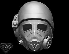 Fallout NCR custom helmet 3D printable model