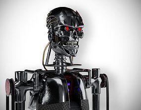 ROBOT SCI-Fi 3D model realtime