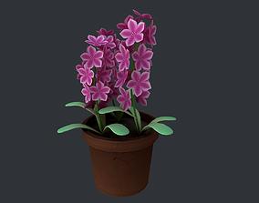 Flower 03 3D model realtime