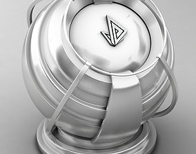 VRAY SHADER---METAL---Magnesium 3D model