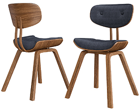 Porthos Home Callen Side Chair 3d model game-ready