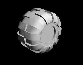 hobby tire 3D print model