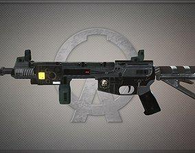 3D asset Smg-ar57-fortune8 Gun-weapon model