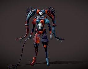 fantasy Harley Quinn 3D print model