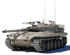 Merkava Mk-2 3D model