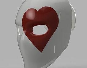 Wild Card Masks 3D printable model