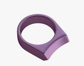 knuckles 3D print model Self-defence ring