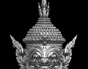 Yak Statue 3D printable model