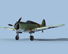 3D Curtiss P-36C Hawk V08 USAAF