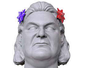 Adorable Adrian Adonis 3D printable portrait sculpture