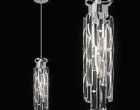 722030 Limpio Lightstar Pendant chandelier 3D model