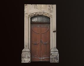 Medieval Door 2 PBR 3D asset