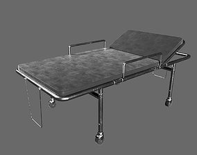 Hospital Stretcher 3D asset
