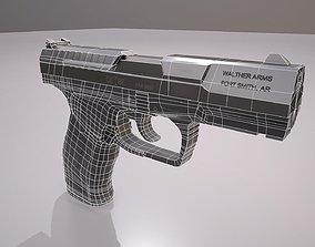 Walther P99 Pistol 3D asset