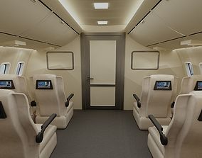 3D model Cabin of aircraft
