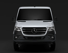 3D Mercedes Benz Sprinter Panel Van L2H1 RWD 2019