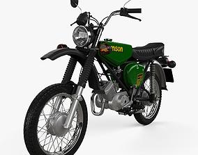 Simson S51 1980 3D