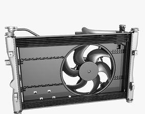 3D Engine Cooling Fan