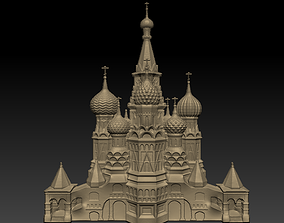 3D printable model a castle ornate