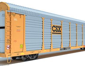 CSX Auto Carrier 3D model