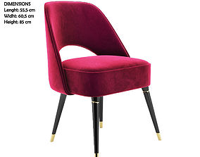 3D model Collins Dinning Chair