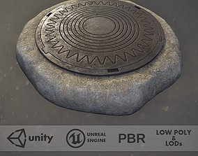Sewer Hatch v4 3D model