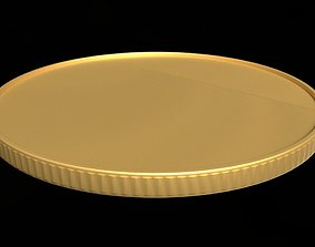 3D model Coin gold