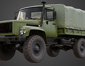 Military Truck GAZ-3308 SADKO 3D