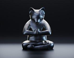 3D printable model Yoga cat 2