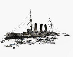 3D model Wreck