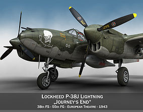 lockheed Lockheed P-38 Lightning - Journeys End 3D