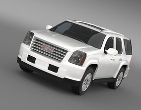 3D GMC Yukon Hybrid 2008