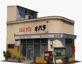Obata Barber Shop 3D model