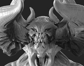 3D printable model Demon bust Tiamat