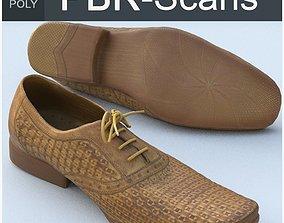 3D PBR Shoe Middle Poly