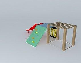 Toy Playground 3D model