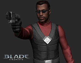3D printable model Blade Trinity gun