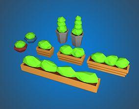 3D model Outdoor Pot Planters
