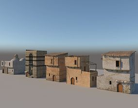 3D Old Houses pack 2