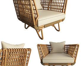 3D Nest Braided Armchair 2