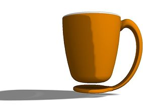 3D printable model Floating coffee mug