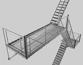 3D model Evacuation ladder