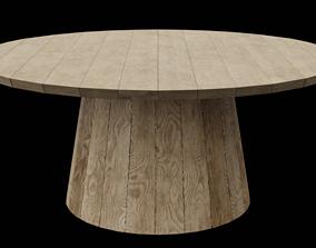 3D asset Circular Table 04