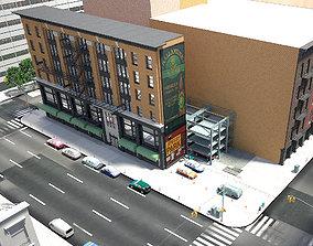 3D NYC block