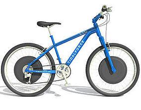 Blue Mountain Bike 2 3D